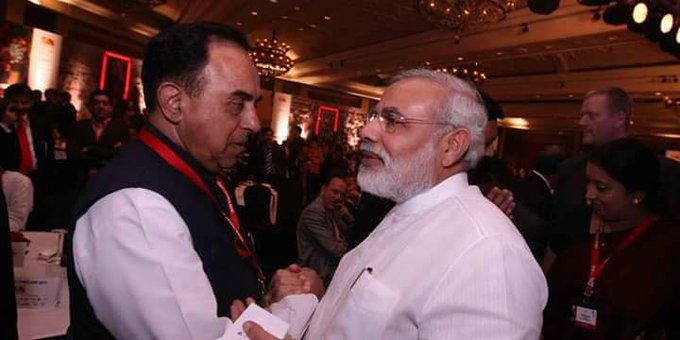 Happy birthday dr subramanian swamy ji   ..  THE ONE MAN ARMY..