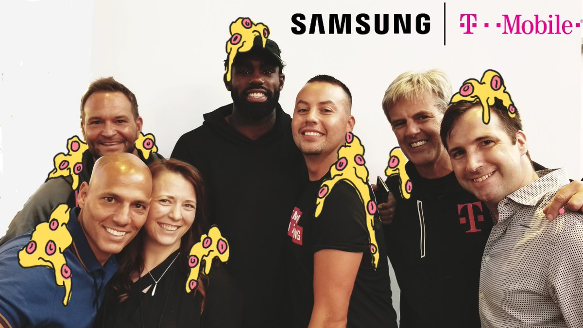#TBT to a fun time last week. Here's my favorite Note8 doodle. Thanks @TMobile + @SamsungMobileUS for having me.
