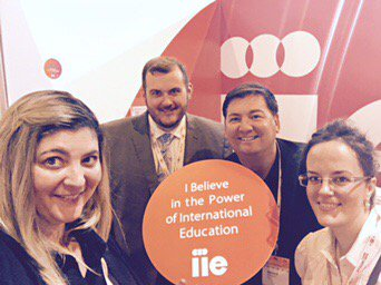 At #EAIE17? Make sure to visit Team IIE at stand B466 in the exhibition space! #eaie  https://www. iie.org/en/Why-IIE/Eve nts/2017-IIE-at-EAIE &nbsp; … <br>http://pic.twitter.com/8huP5t6YMP