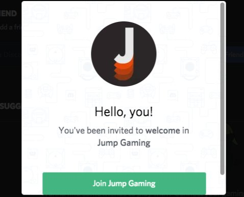 Jump Gaming On Twitter Join Us On The Discord App Link Https T Co F45cplaiua Gamersunite Chat Discordapp Playonjump