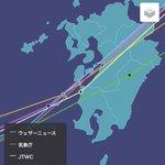 台風18号は、気象関係機関のどの予想を見ても今のところ明日16日の午後から明後日17日にかけて熊本に…
