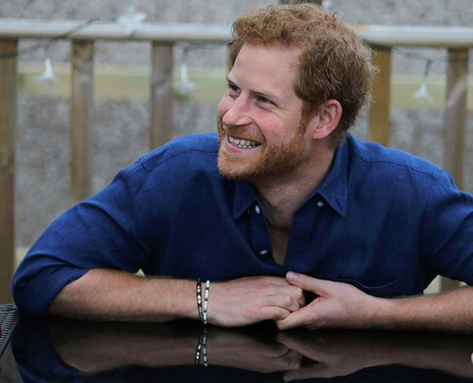 Happy birthday to the wonderful prince Harry