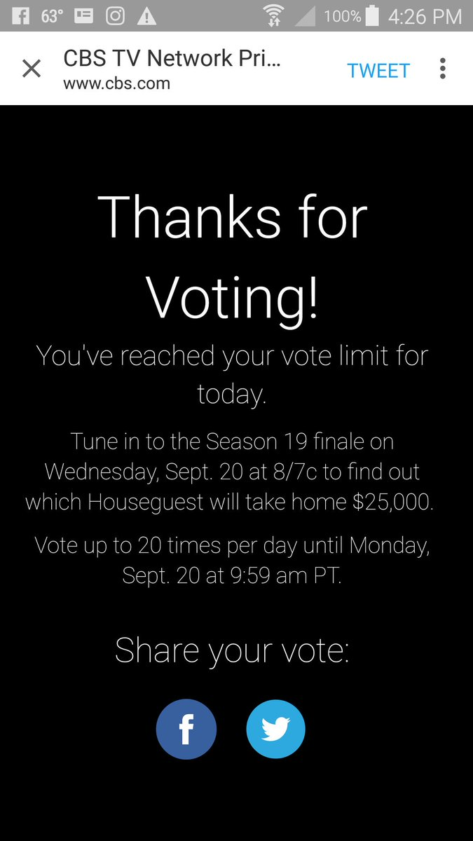 @JessicaGraf26 And I'll keep voting ever...