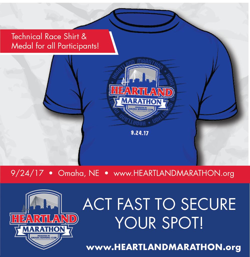Next up for me the Heartland Half Marathon @OmahaRunClub #HeartlandMarathon https://t.co/6sJ8nbsEMn