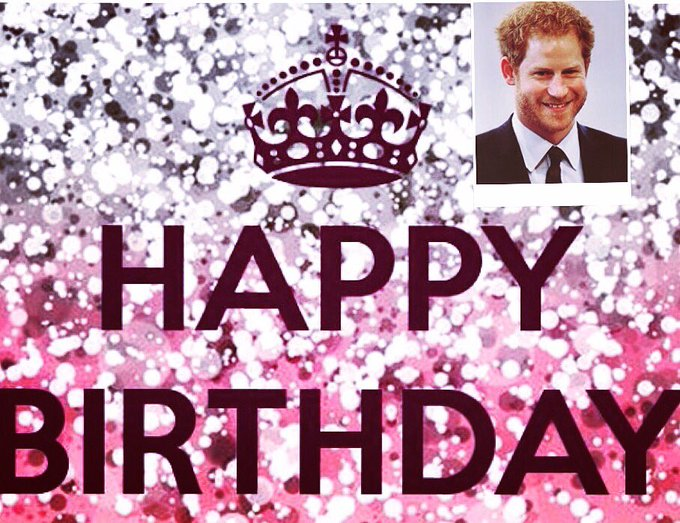Happy Birthday Royal Prince Harry       wish you all the best and god protect you.enjoy