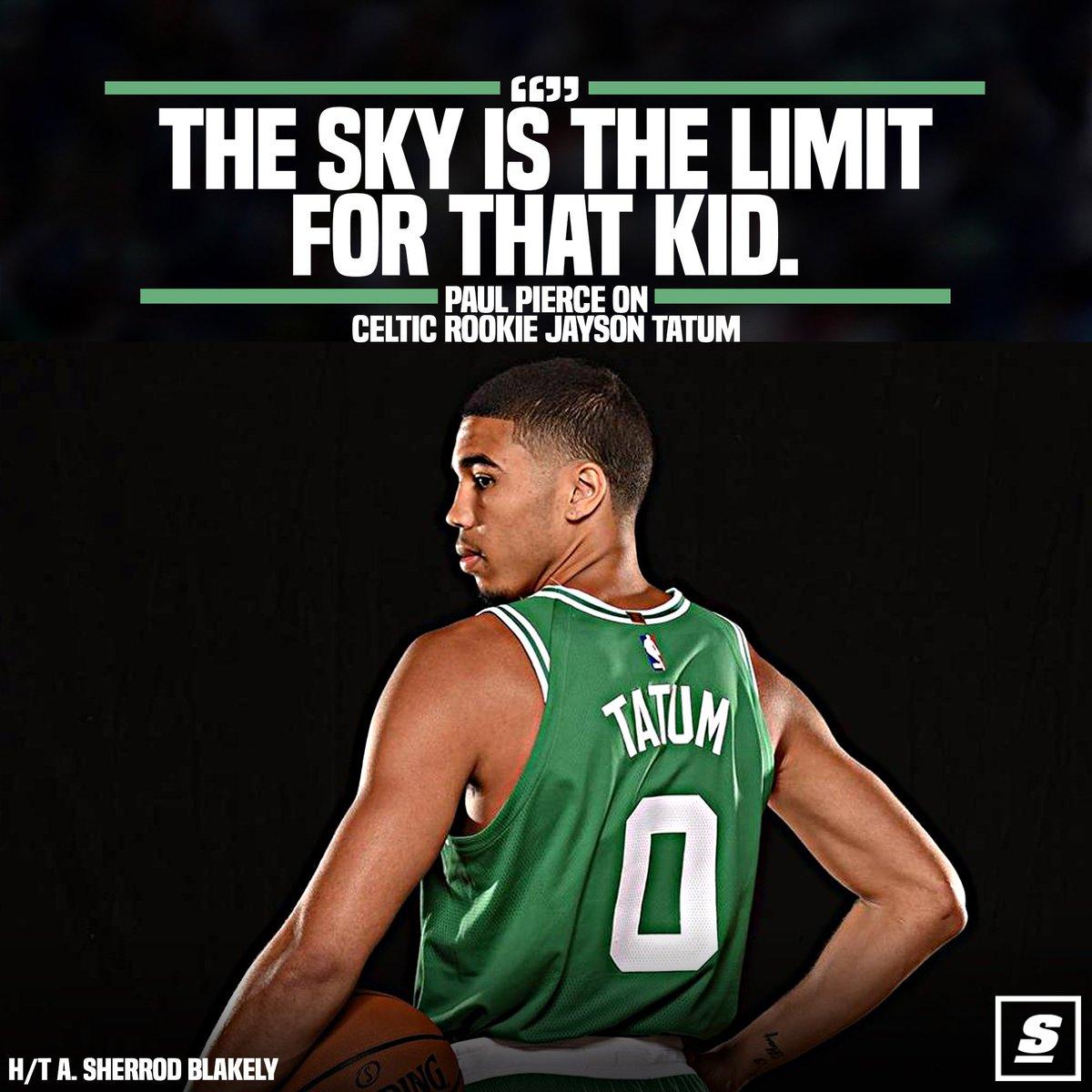 老皮讚綠軍探花:Tatum強於同期的我  希望他能帶隊拿到第18冠(影)-Haters-黑特籃球NBA新聞影音圖片分享社區