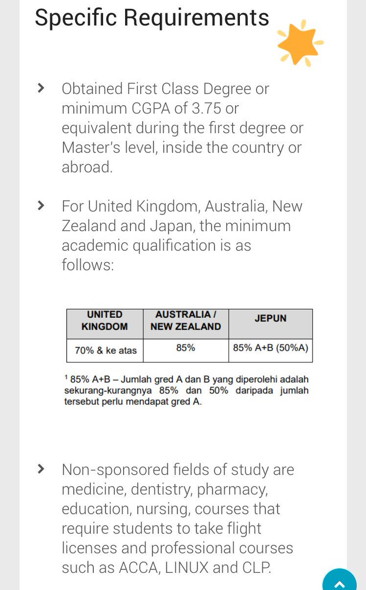 Afrina Zulkifli On Twitter Take Note Dat U Have 2 B A Jpa Scholar During Ur Degree In Malaysia Overseas To Apply For Jpa Masters Phd
