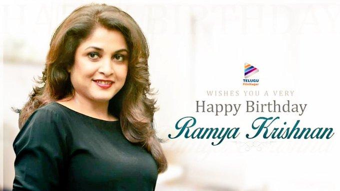 Happy birthday to Ramya Krishnan garu