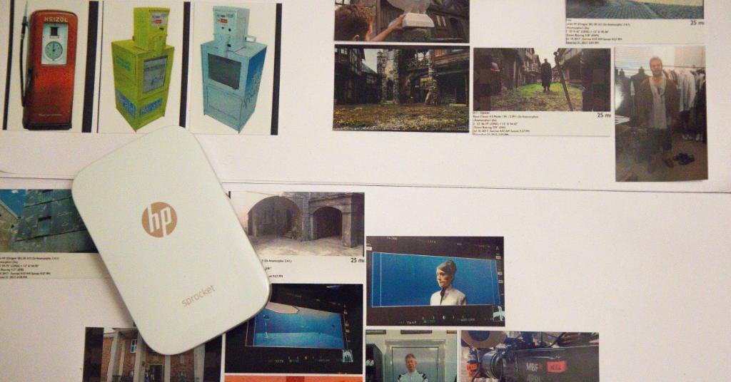 """""""Etwas Haptisches bindet ans Projekt"""", sagt ein Regisseur zum HP Sprocket Pocket Printer. Mehr: https://t.co/TARK6R3OH0 https://t.co/YyATitn1cm"""
