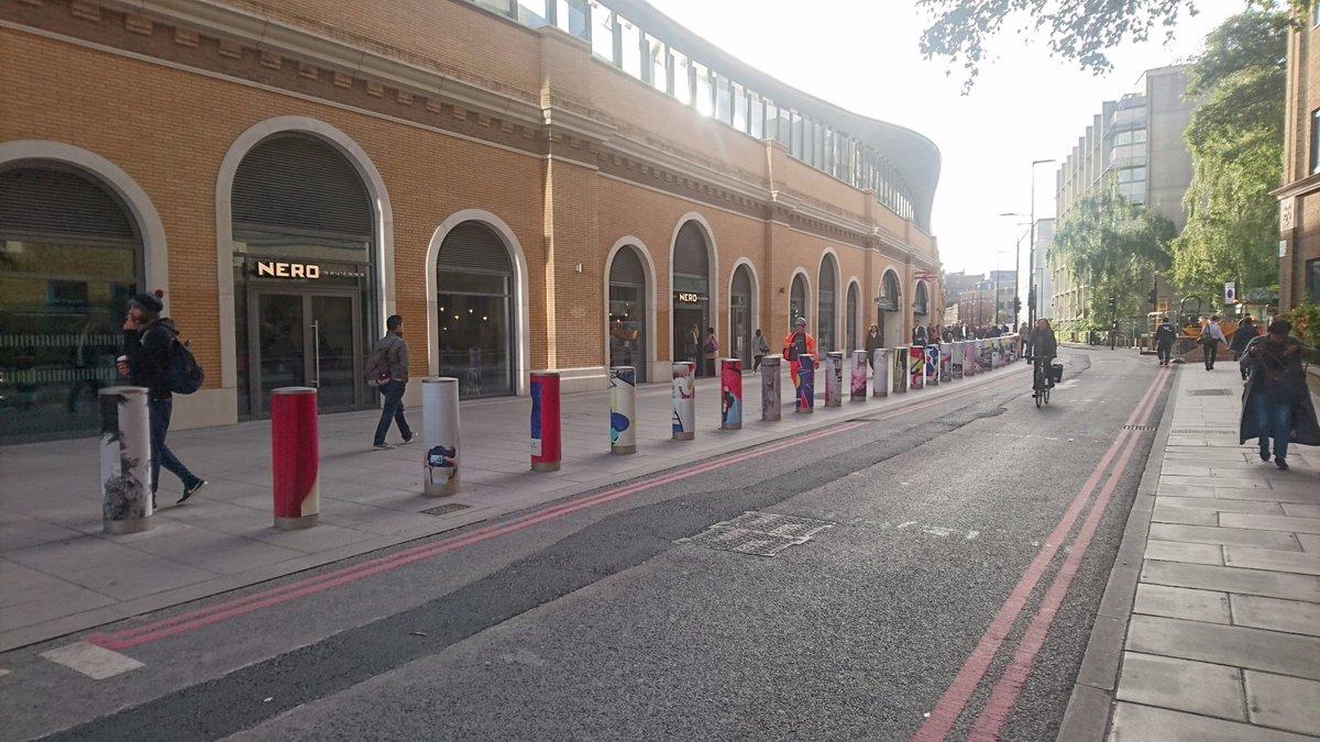 Today is the day! Have you seen it yet? #DontThinkTwice #LondonBridgeArt #JenniferAbessira #publicart <br>http://pic.twitter.com/blJjj2l3eh