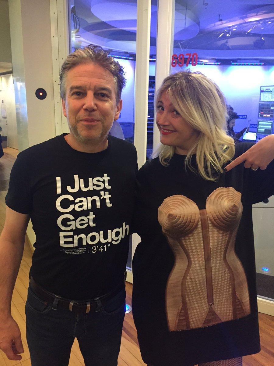 T-shirts du jour avec Emilie Mazoyer.  @EmilieRadioFr @Europe1