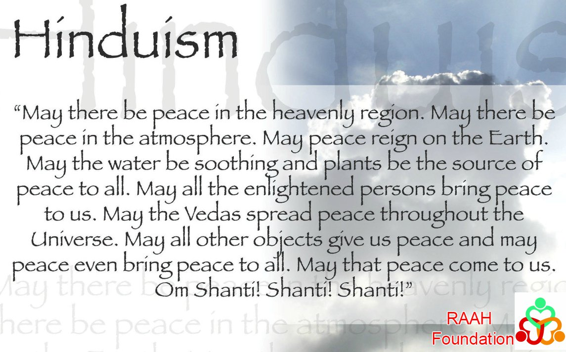 Peace and Hinduism #Peace #PeaceDay #WorldPeace #WorldPeaceDay #Humanity #HumanRights #Hindu #Hinduism #ReligiousFreedom #GenderEquality <br>http://pic.twitter.com/27psUnTe5G