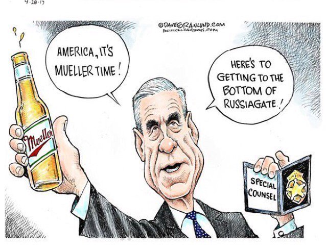 It&#39;s Mueller Time indict the #EntireTreasonousRegime #TheResistance #TrumpRussiaTies #LockThemUp<br>http://pic.twitter.com/htG9OSkkNR