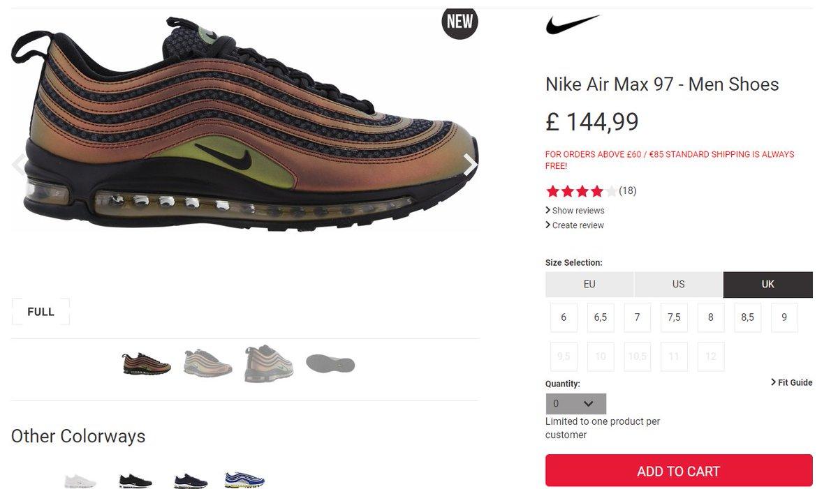 air max 97 mens foot locker uk