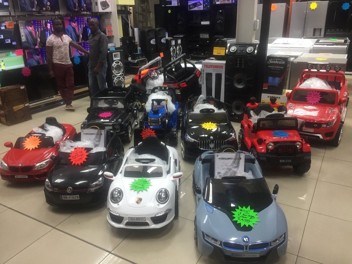 Powered cars for sale