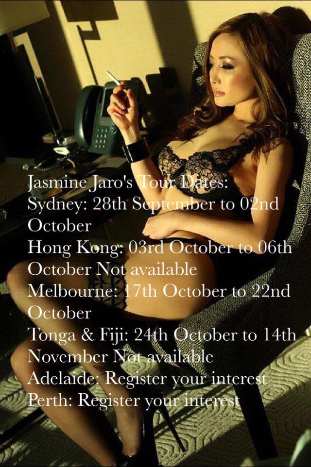 Jasmine Jaro's Tour Dates: September to October