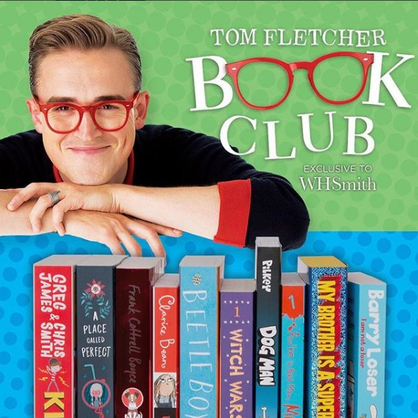 RT @SaxonSquare: We are BEYOND excited to tell you that @WHSmith will be hosting the new @TomFletcher Book Club!!! https://t.co/qW1tBz3Vlb
