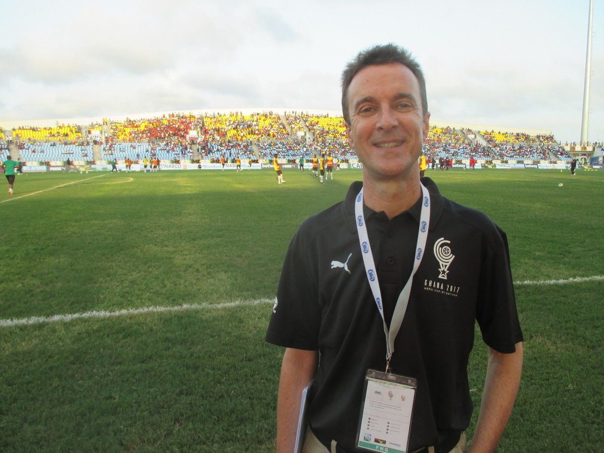Steve Vickers On Twitter Greetings From Ghana Im At The Wafu Cup
