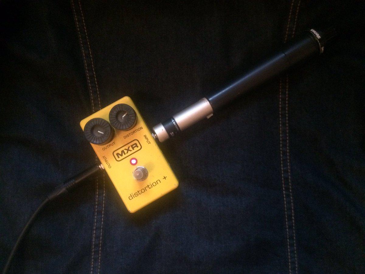 Микрофонный усилитель с компрессором схема