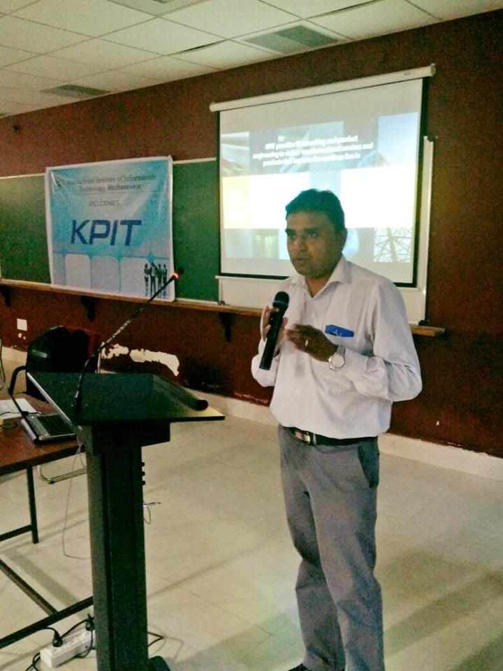 Rise up to the challenge. Spread the word &amp; participate in #KPITSparkle .@VishalPillai18 Pillai at IIIT Bhubaneswar #innovation<br>http://pic.twitter.com/WAv3VZqGGl