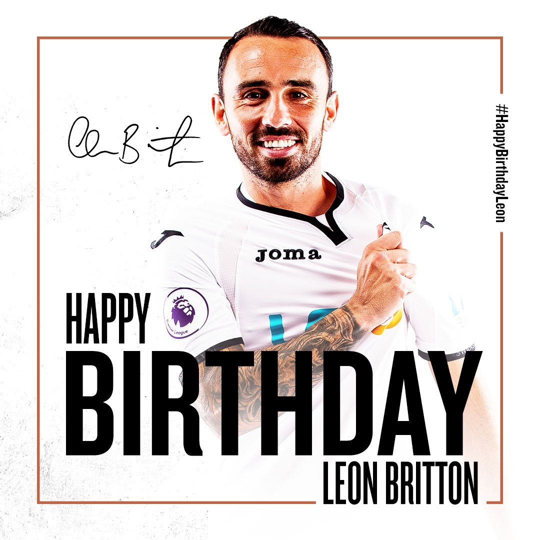 RT @SwansOfficial: And a very happy birthday to our skipper, @Britts_7! 🎈  #LeonLeonLeon https://t.co/hAqIPlkDhn