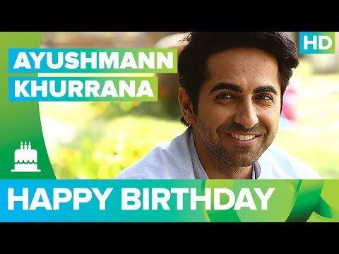 Happy Birthday Ayushmann Khurrana ! -  The Times24