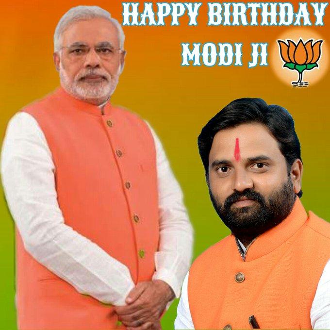 Advance Happy Birthday Sri Narendra Modi Ji Prime Minister Of India