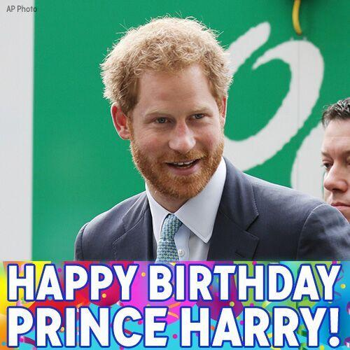 Happy Birthday, Prince Harry! Join us in wishing him a great day!