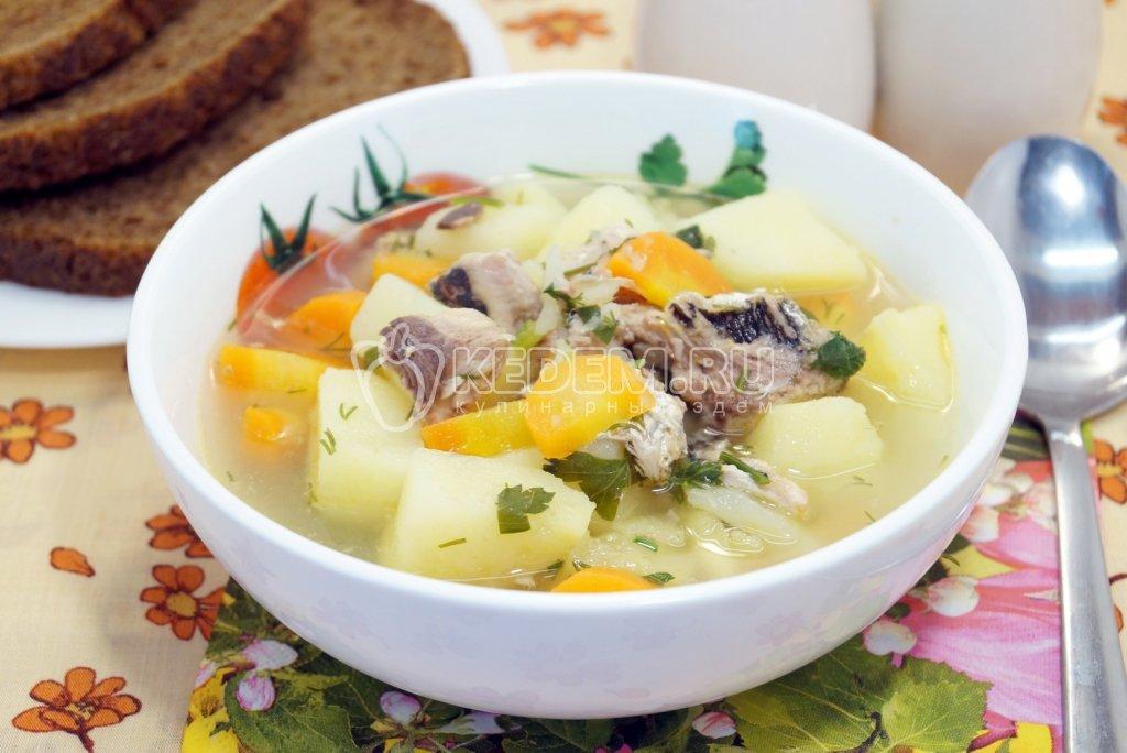 Рецепты суп из морской капусты