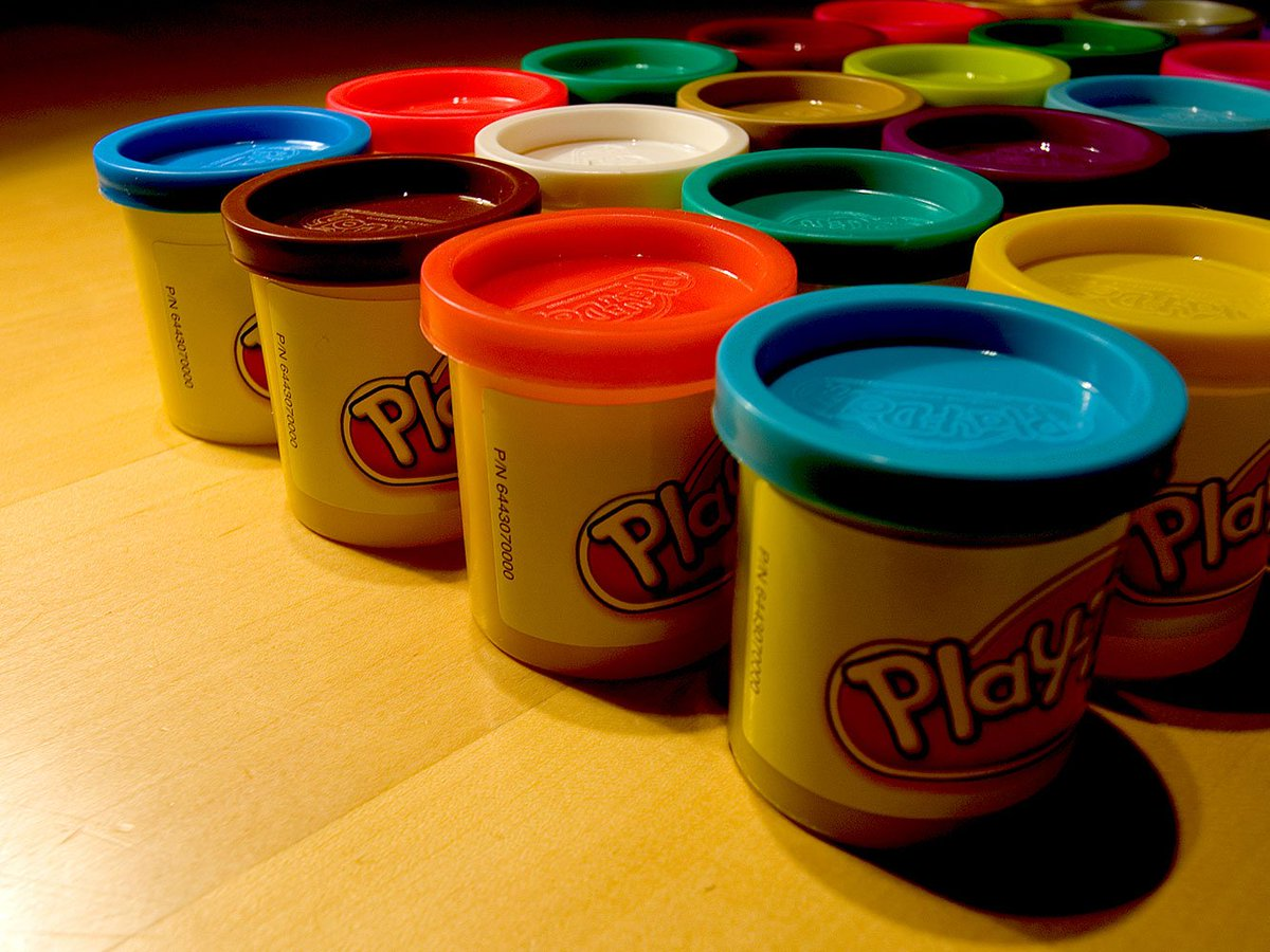 Quite Interesting On Twitter Play Doh Was Originally Manufactured
