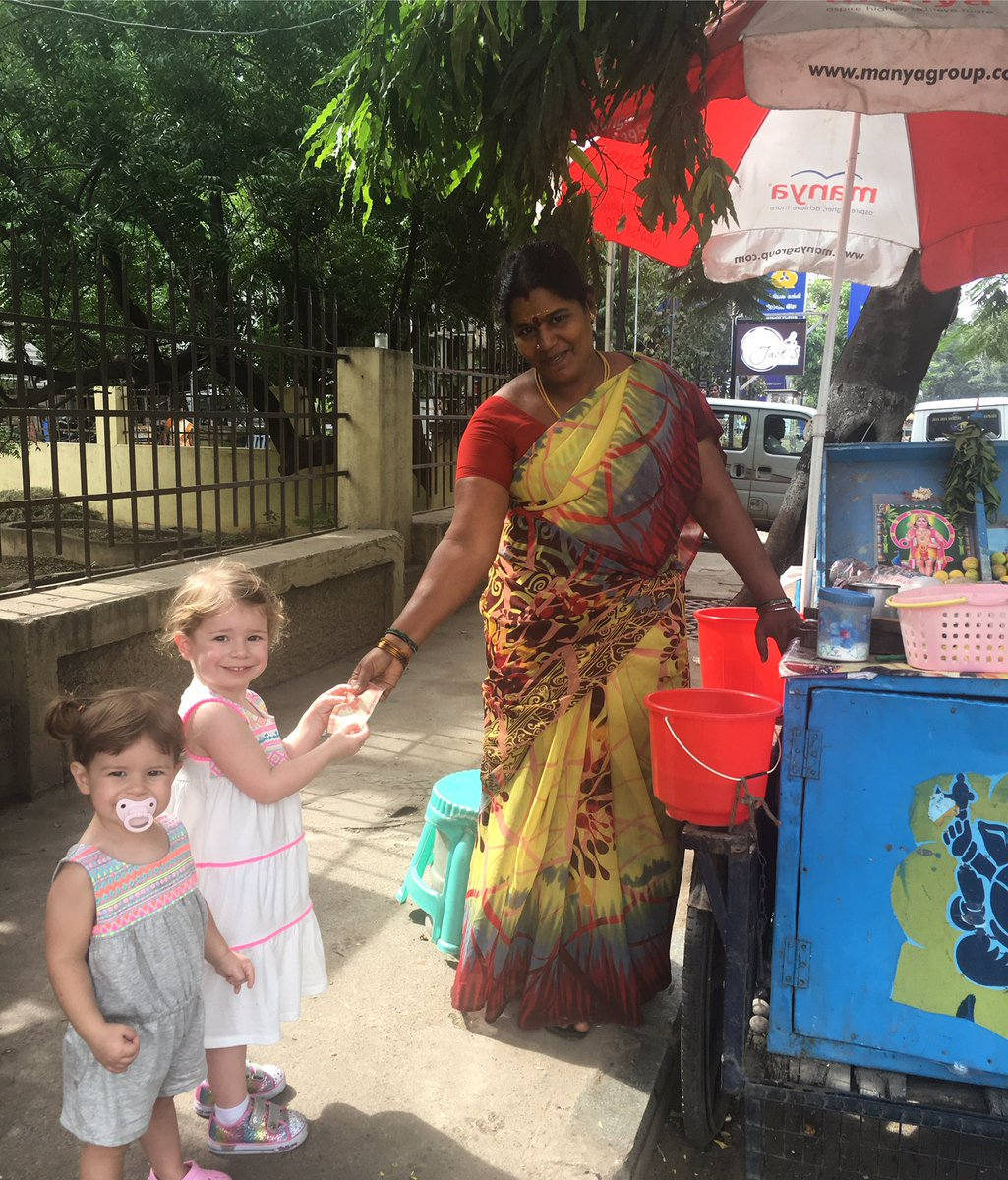 Ivy and Indi out and about in downtown Chennai today. #India #secondhome https://t.co/L6CRG1KrUb