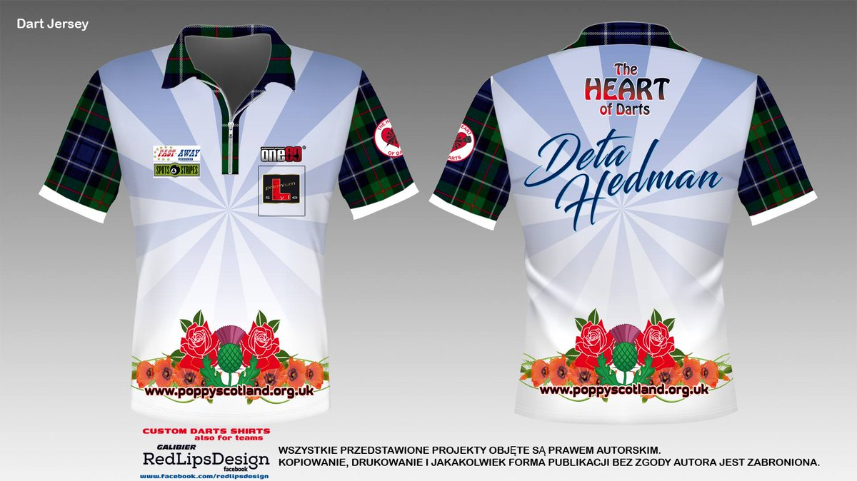 The Heart Of Darts On Twitter Special Shirt For Deta132 To