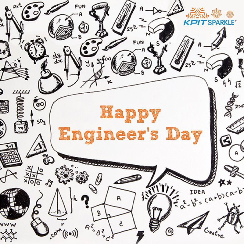 Happy #EngineersDay to all  #KPITSparkle 2018 #technology #innovation #science #engineers  https:// goo.gl/Sj2v5d  &nbsp;  <br>http://pic.twitter.com/2owX7dDxuN
