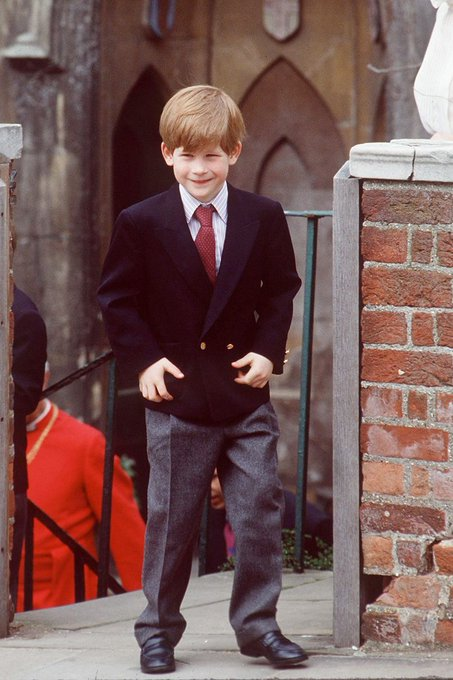 HAPPY BIRTHDAY PRINCE HARRY! Here\s a picture from every year of the cheeky prince\s life