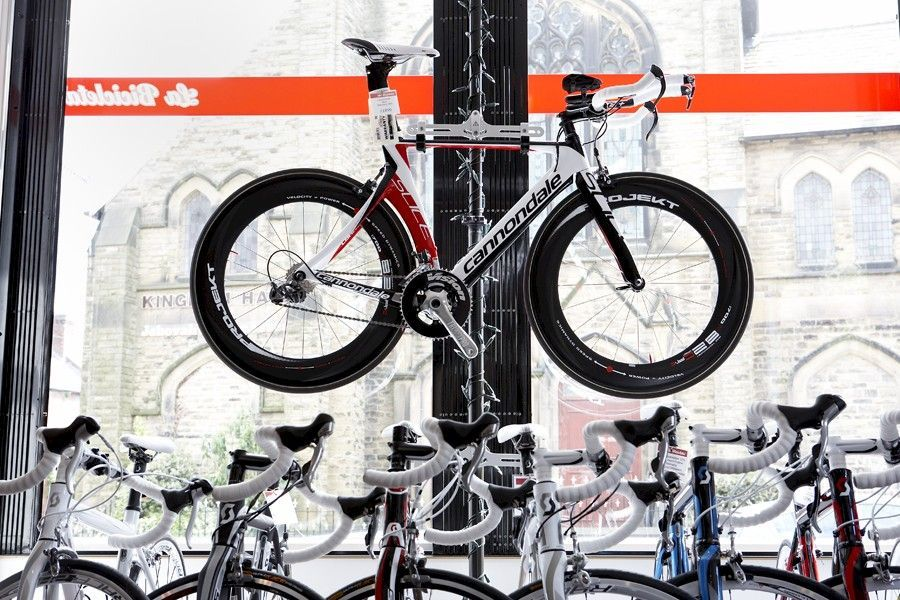 Looking road bike
