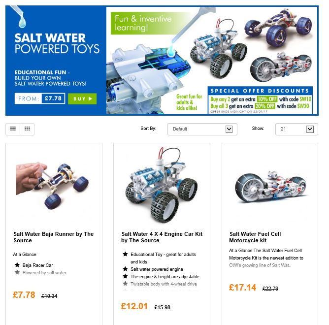 Autumn fun with salt water vehicles  http:// ow.ly/kf2y30f9IFE  &nbsp;    #RT #Follow #Win Save Share #MultiBuy any 2/3 Extra 10/20% off <br>http://pic.twitter.com/0MOqFT7ajn