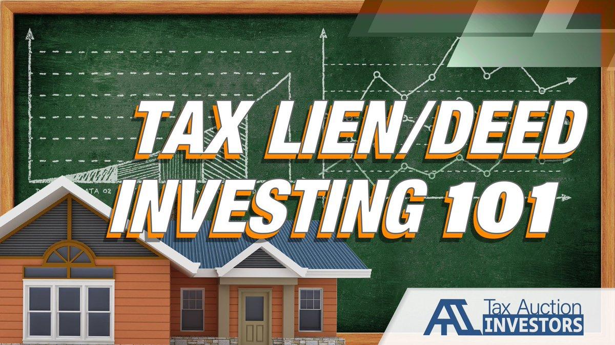For tax lien properties