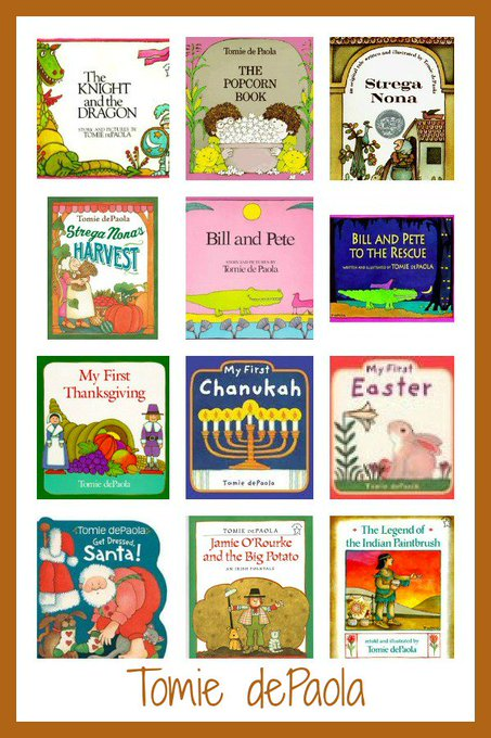 Happy birthday to Tomie dePaola! Explore some of his children\s books