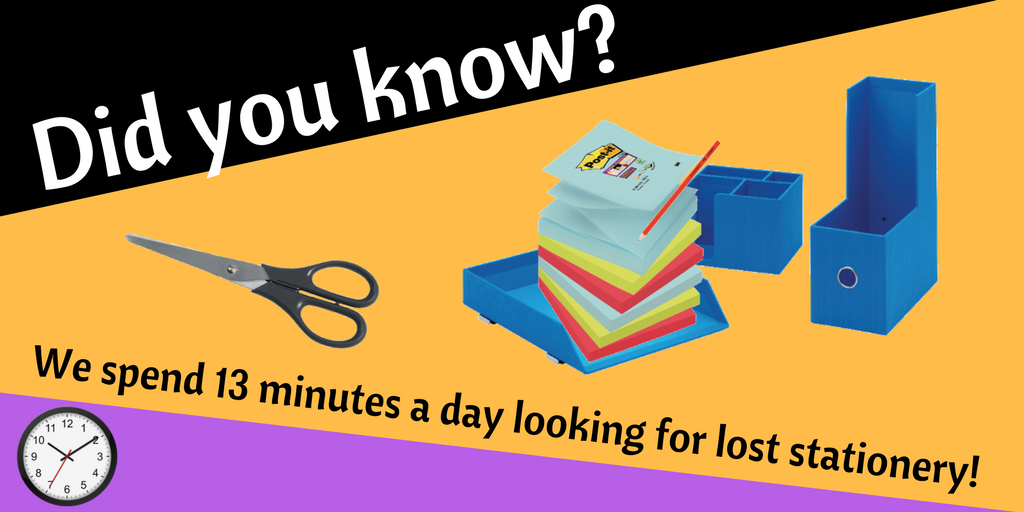 Pens, pencils, paperclips, pins... one minute your desk is fully stocked, the next it&#39;s empty - but where does it all go? #UKBizHour <br>http://pic.twitter.com/maU6t8TP9i