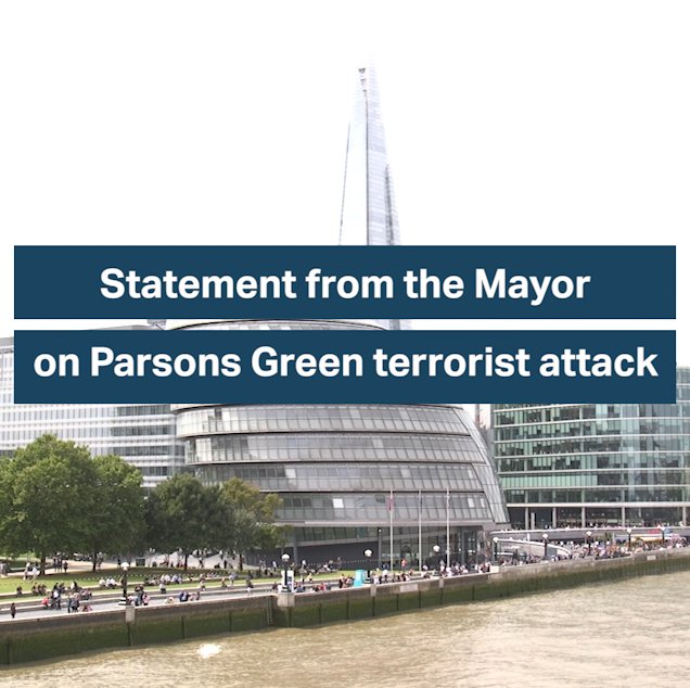 London will never be intimidated or defeated by terrorism. https://t.co/MqzELSKoBB