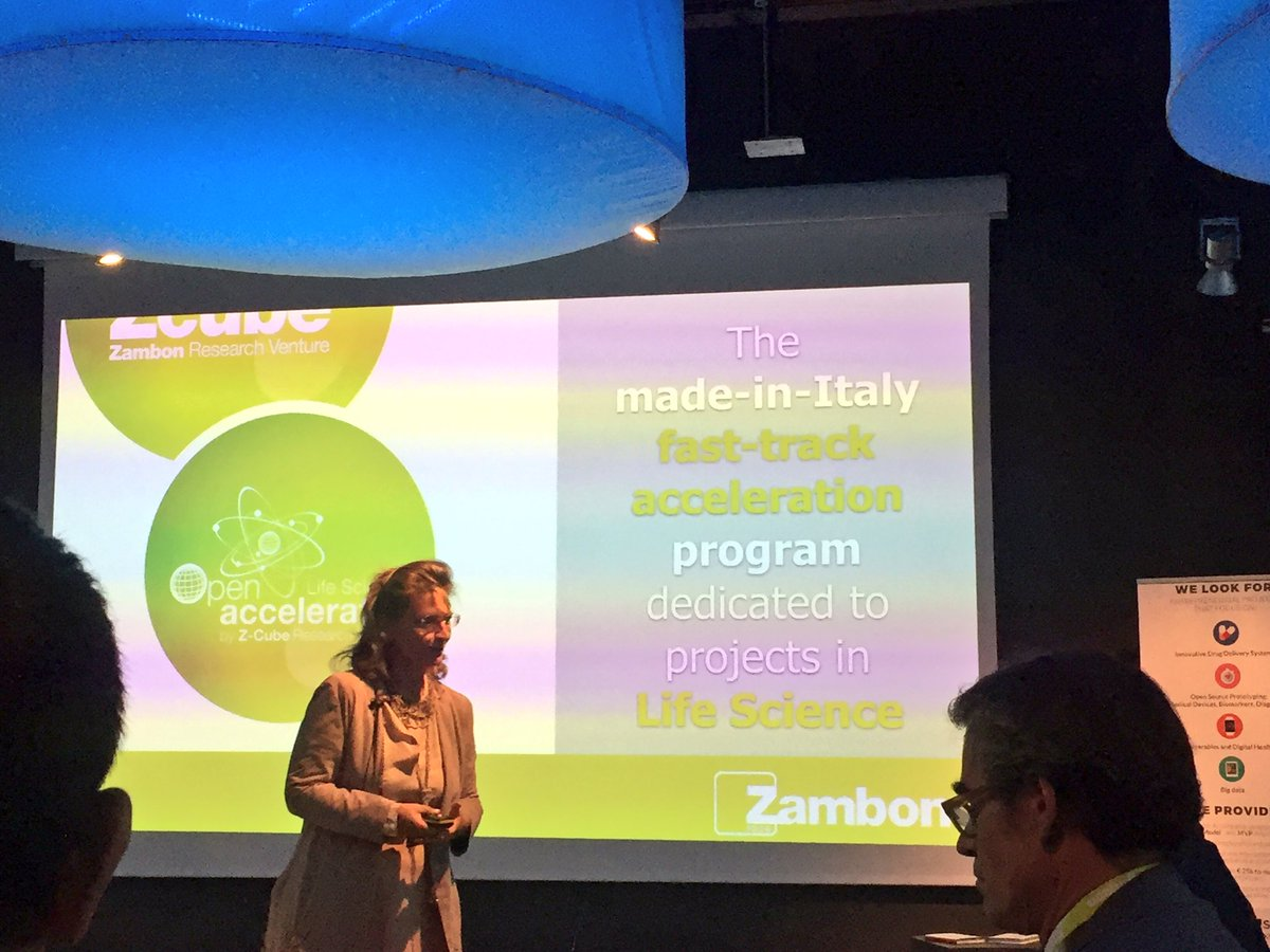 The #madeinitaly fast track program dedicated to #startups  in #LifeScience also #UniCreditStartLab  is here #openzone #zambon #zcube<br>http://pic.twitter.com/mDV2GcoXvV