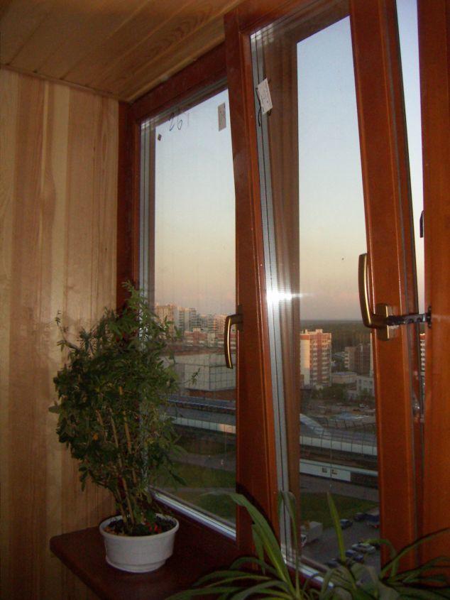 Окна деревянные образцы