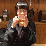 なっぴーとご飯たべた😍誕生日のお祝いしてくれた😍 pic.twitter.com/6MpyjIbUU…