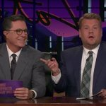 See Stephen Colbert join James Corden on #LateLateShow and reveal the downsides to hosting a late-night CBS show https://t.co/NxjiLKnRjk
