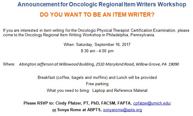 APTA Oncology Section on Twitter: \