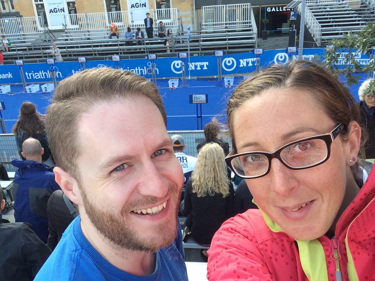 Itu time !!! #rotterdam #worldchampionships #agegrouptriathlete #teamgb <br>http://pic.twitter.com/z58A3aUPDt
