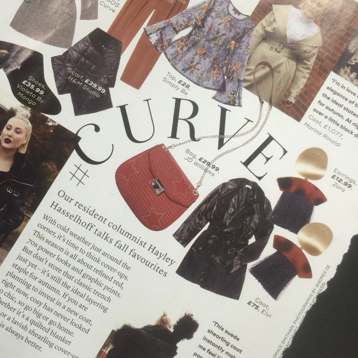 test Twitter Media - .@HHASSELHOFF talks autumn fashion in her latest column with @marieclaireuk - and look what we spotted! Our black patent mac #comingsoon 😍 https://t.co/8iOr8uQ9zJ