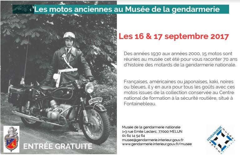 gendarmerie nationale on twitter jep2017 le muse de la gendarmerie vous attend melun pour une expo ddie nos motos voitures mythiques