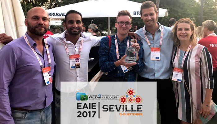 Web2Presenters visiting annual #EAIE: European Association for #International #Education conference<br>http://pic.twitter.com/bLmhv7VbMg