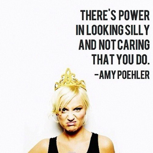 Happy Birthday to our Queen Amy Poehler - you can do no wrong, keep doing your thing